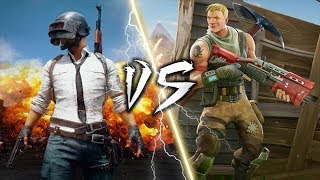PUBG VS FORTNITE RAP BATTLE ROYALE | FREESTYLE #staysharp