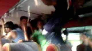 Sriram pull ups in bus