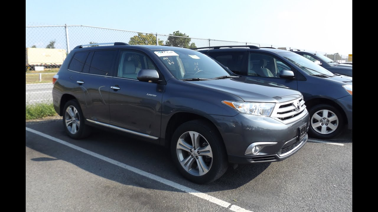 2011 toyota highlander limited v6 awd start up and tour. Black Bedroom Furniture Sets. Home Design Ideas