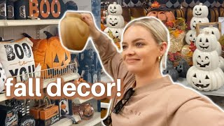 SHOP WITH ME FOR FALL DECOR 🍂 Home Goods, Hobby Lobby, Michaels, At Home, Bath & Body Works!