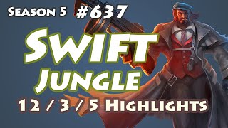 QG Swift - Graves Jungle - KR LOL SoloQ Highlights