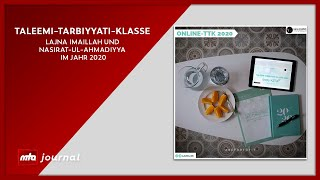 Taleemi-Tarbiyyati-Klasse  - MTA Journal | 01.02.2021