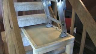 How to build a ladder platform, by Matt Fox of HGTV's room by room.