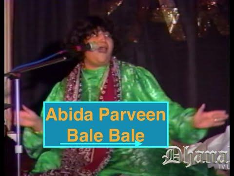 Legendary Abida Parveen (Bale Bale) - Dhanak TV USA Mp3