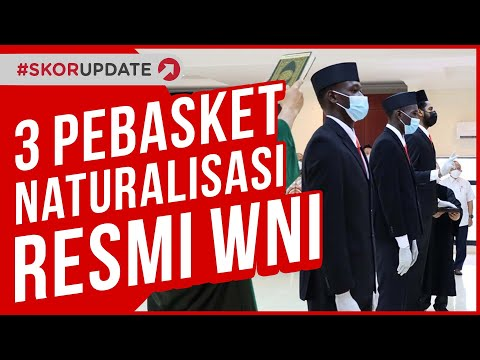 Timnas Basket Indonesia Bertambah Amunisi, 3 Pebasket Naturalisasi Resmi Jadi WNI