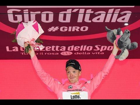 Matteo Trentin ha vinto la 18 tappa la più lunga del Giro d'Italia2016 #Giro