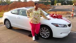 Mom Surprises Son with Brand New Honda Accord Cpe courtesy of AutoNegotiatorsUSA!!