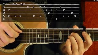 Cat's In The Cradle - Harry Chapin - Guitar Lesson - Easy