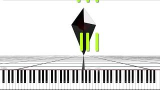 No Man's Sky // Supermoon | LyricWulf Piano Tutorial on Synthesia