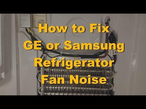 Ge refrigerator loud humming noise