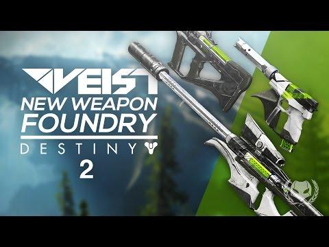 Destiny 2: New Weapon Foundry - Veist! Suros Armor?