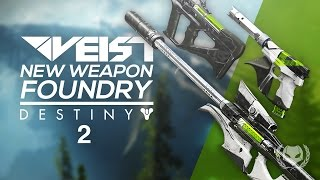 Destiny 2: New Weapon Foundry - Veist! Suros Armor?