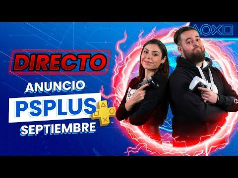 🔴EN DIRECTO - ANUNCIO juegos PS PLUS SEPTIEMBRE con Albi HM y Rosdri | PlayStation España