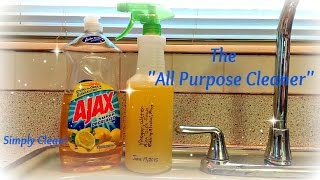 How To Make Easy DIY All Purpose Cleaner and Disinfectant