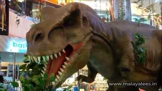 Scary Dinosaurs in Oberon Mall Cochin
