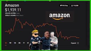 AMAZON WAREHOUSE EXPOSED! Manager speaks out!!  ROBINHOOD INVESTING | AMAZON STOCK CRASHING?