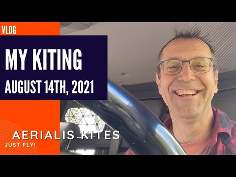 My Kiting - August 15th 2021 - Never Leave Home Without It!