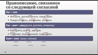Урок русского языка в 10-11 классе