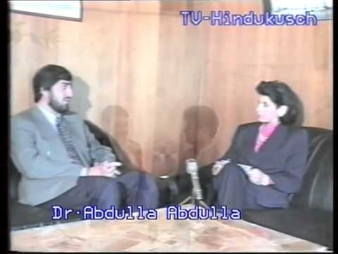 Interview with Dr.Abdulla Abdulla 1995 TV- Hindukush Directed by M.Nazir Hessam