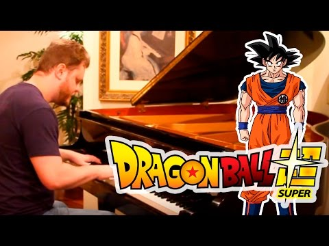 Dragon Ball Z Music on Piano - 2 Opening theme