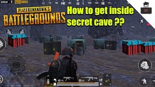 How to get inside Vikendi Cave PUBG Mobile !!!