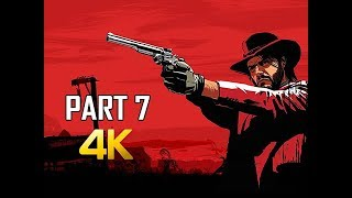 RED DEAD REDEMPTION Gameplay Walkthrough Part 7 - Rescue Bonnie (4K Xbox One X Enhanced)