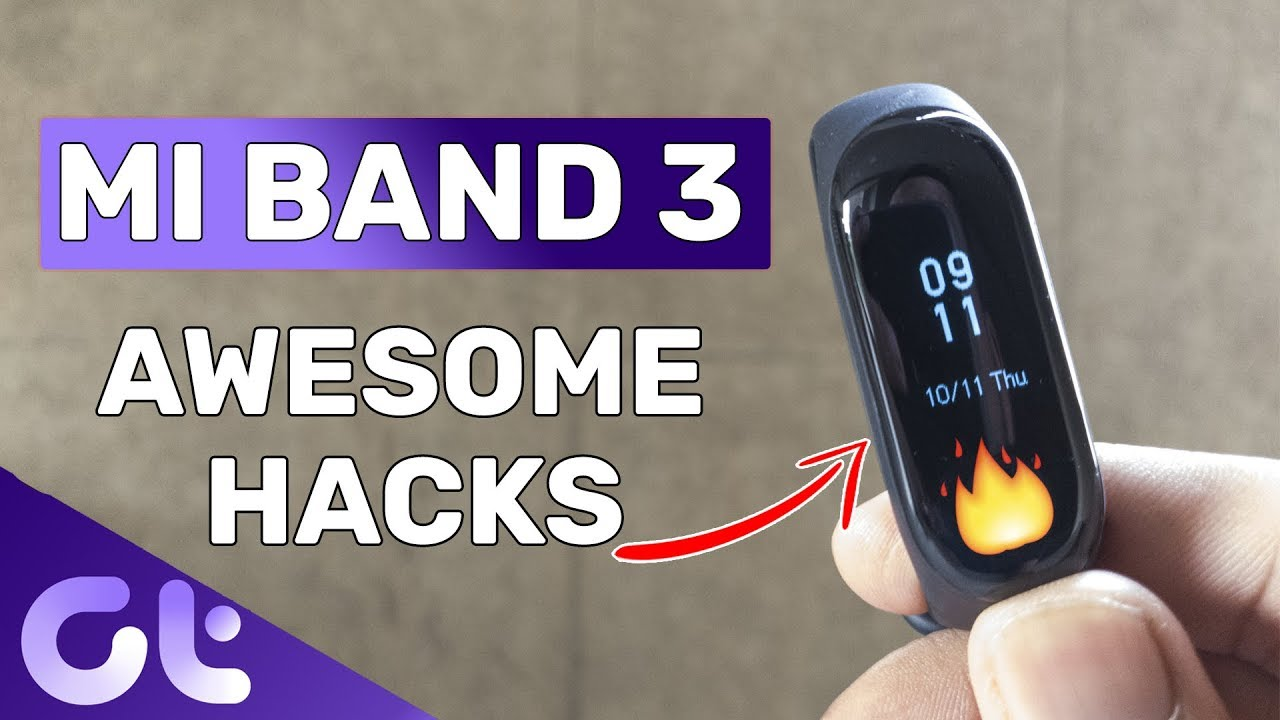 Top 6 Best Tricks of Mi Band 3 | Take Photos, Find Phone & More | Guiding  Tech
