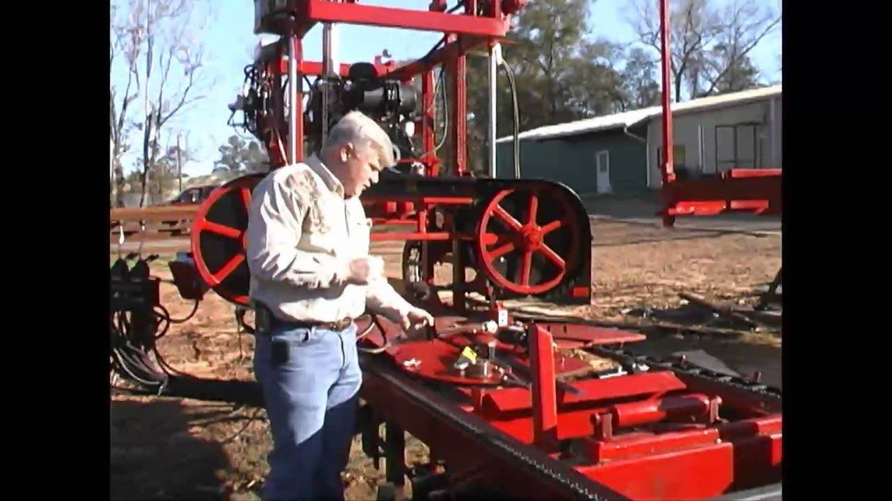Cook S Saw Ac 36 Portable Sawmill Part 1 Youtube