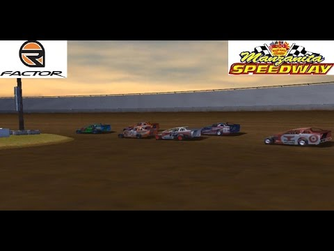 rFactor - 321 Development Big Block Modifieds - Manzanita Speedway