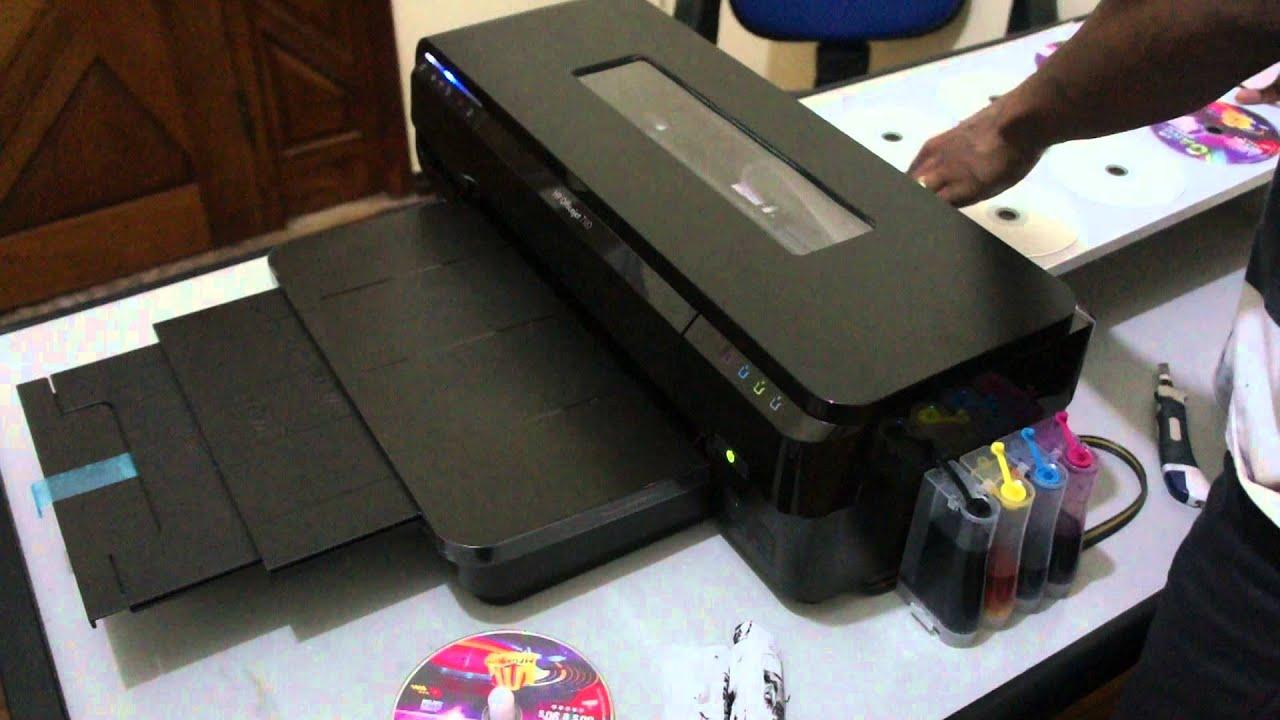 Impressora Hp Officejet 7110 Adaptada Para Impress 195 O Em Cd