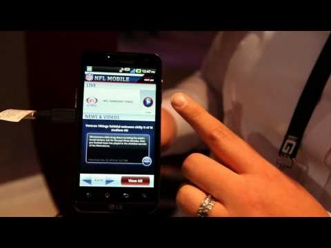 LG Revolution hands-on from CES 2011, 4.3-inch 4G LTE Android device for Verizon