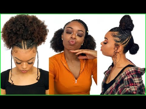 10 Instagram Hairstyles For Natural Hair 2018 2019 Youtube