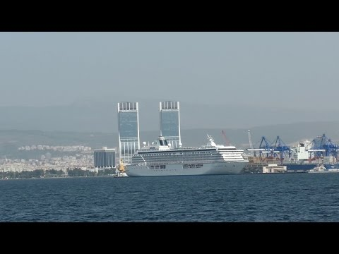 Travel - Karsiyaka - Konak Ferry Izmir Turkey 2015