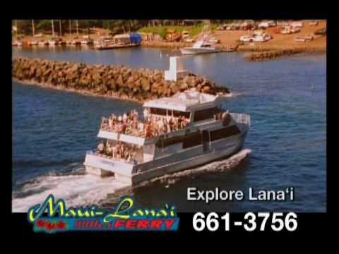 Expeditions Maui Lana'i Ferry - Explore Lana'i Hawaii