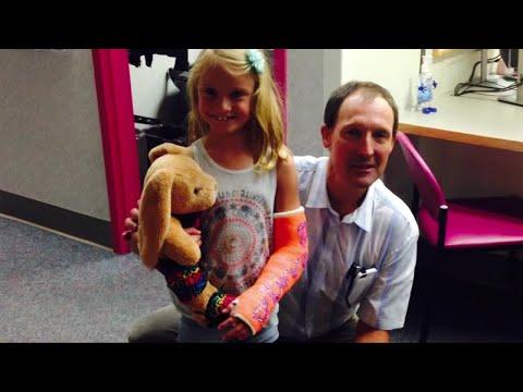 Girls shares story of help from Shrine Hospital
