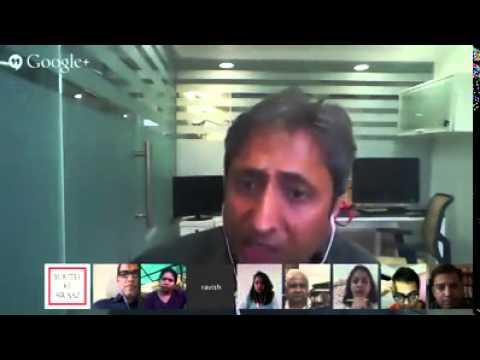 Ravish Speaking in Google Hangout