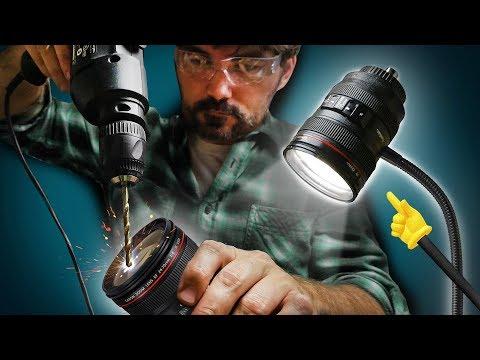 Turn that camera lens mug into a camera lens lamp