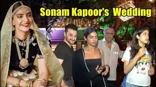 Sonam Kapoor's Wedding Video With Kapoor Family Jhanvi, Khushi, Sanjay, Boney, Anil Kapoor
