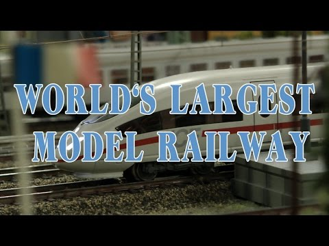 World's Largest Model Railway as well as the longest video about Model Railroading