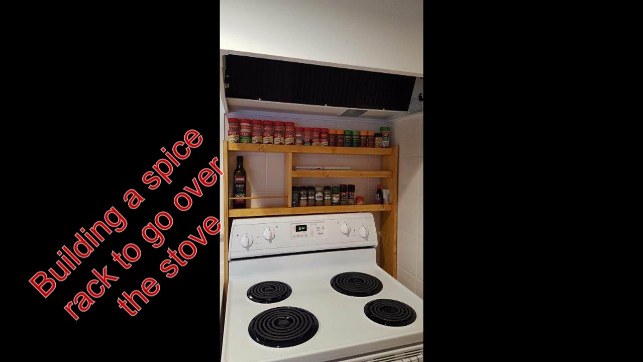 over the stove spice rack
