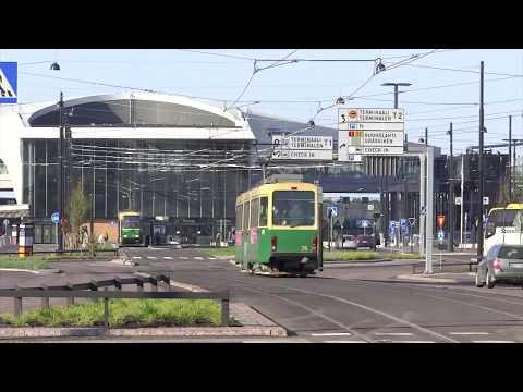 Helsinki, Finland - Helsinki Tram Network (2018)