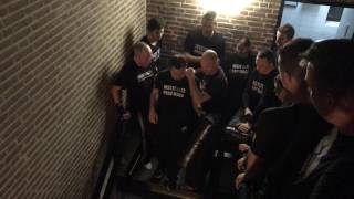 Fighting with Limitations, on the stairs. With Amnon Darsa at Institute Krav Maga Netherlands.