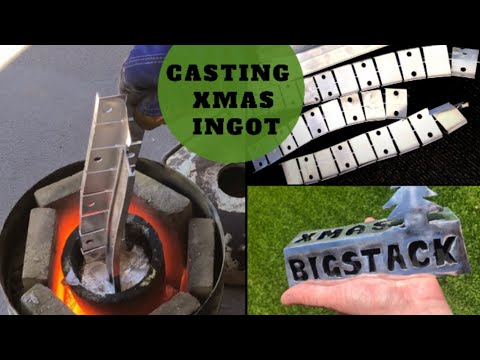 Trash To Treasure - Big Ingot Casting - Casting Solid Xmas Ingot Aluminium en streaming