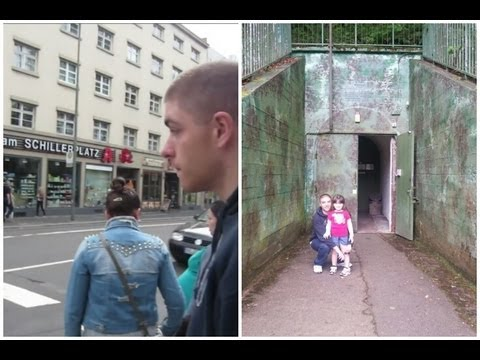 WESTWALL WW2 BUNKERS & DOWNTOWN KAISERSLAUTERN - June 15, 2013 - usaaffamily vlog