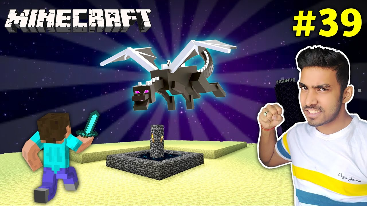 CAN I DEFEAT ENDER DRAGON ?   MINECRAFT GAMEPLAY #39