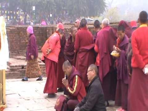 (Video 46) Kathmandu (Nepal) - Kushinagar (India) 28 Dec 2010 - 7 Jan 2011