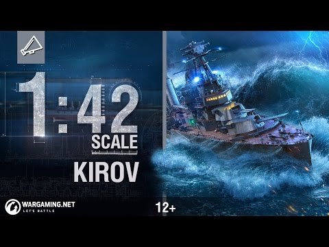 World of Warships - 1:42 Scale: Cruiser Kirov