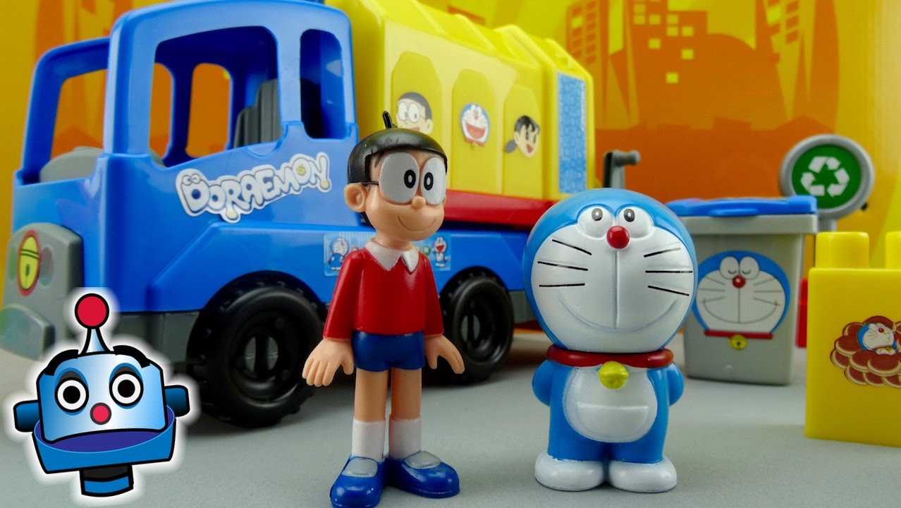 Recycle with Doraemon and Nobita Toys from Doraemon  YouTube