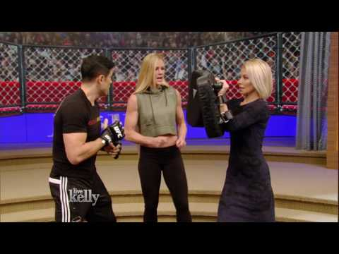 Training with Holly Holm