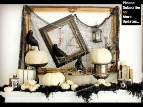 Collection Black Halloween Decoration Black Halloween D Cor Youtube